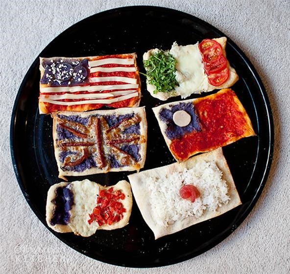 HowTo: The United Flags of Pizza