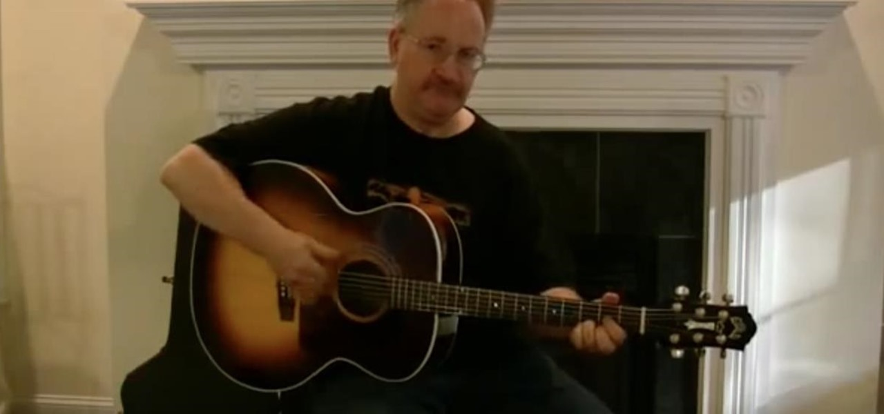 "Play Tommy Johnson's ""Big Road Blues"" on Guitar"