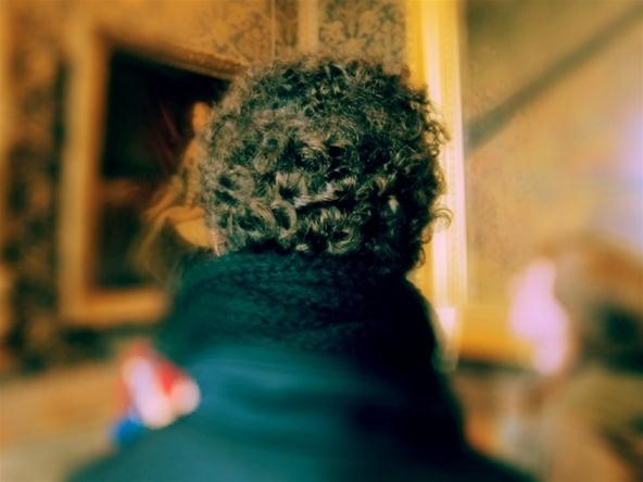 Bokeh Photography Challenge: My Brother's Curly Mop at Versailles