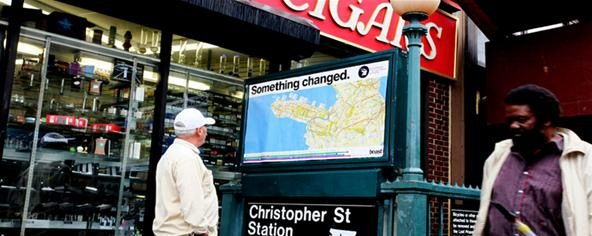 Street Artist Tricks Tourists with Custom Subway Maps