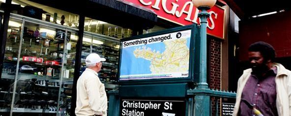 Street Artist Tricks Tourists with Custom Subway Maps