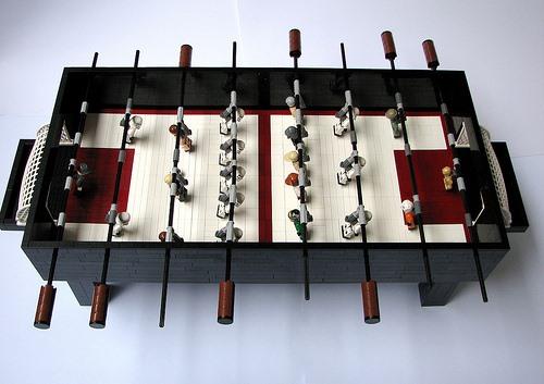 Star Wars Foosball Table Made Entirely of LEGOs