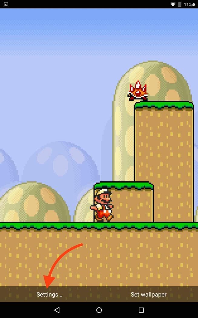 Mario Lock Screen Your Home or Lock Screen