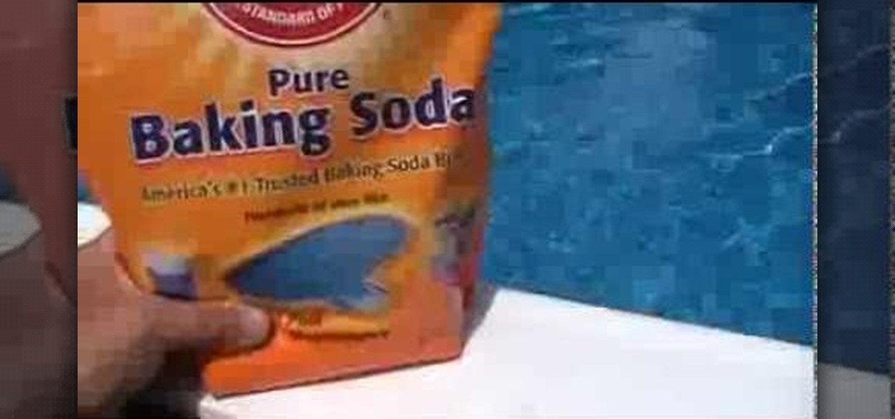 Keep Swimming Pool Water Crystal Clear Using Baking Soda for PH Level