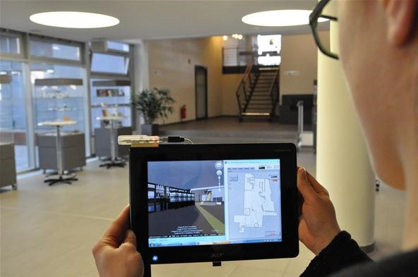 Coming Soon to a Smartphone Near You: 3D Navigation for Buildings!