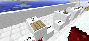 Use redstone dust for power in Minecraft