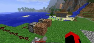 Craft pistons and shears in Minecraft beta 1.7