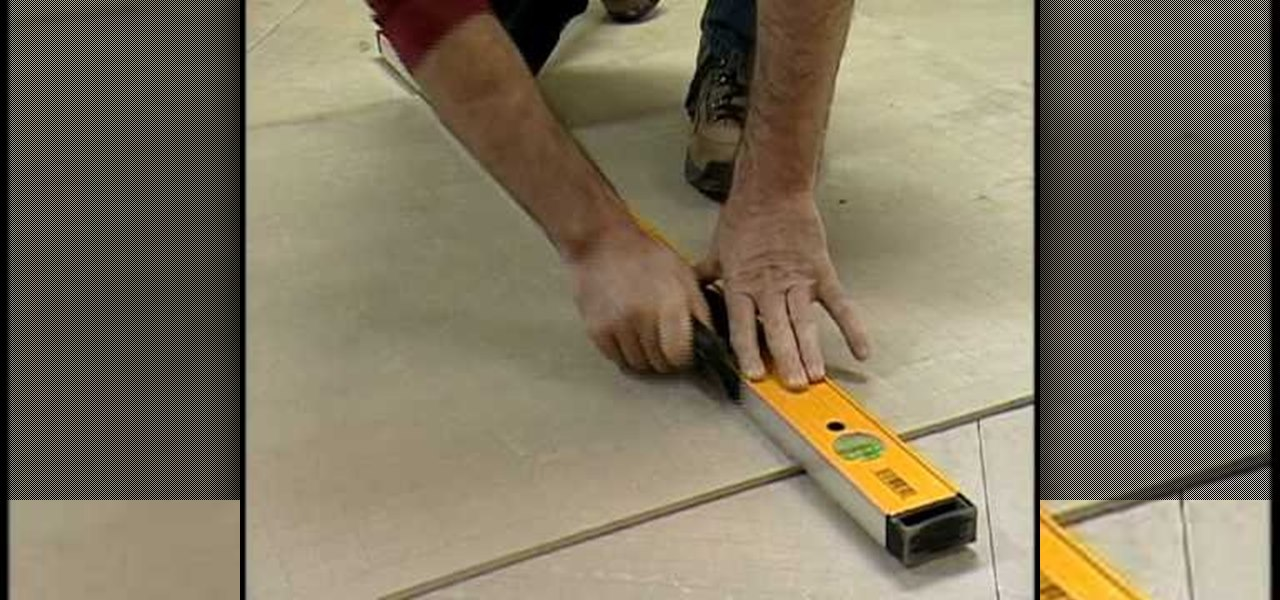 How to Tile a kitchen floor with Home Depot « Construction & Repair ...