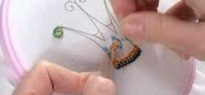Embroider the French knot