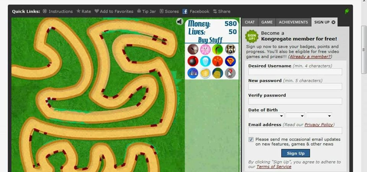 how to get free money in bloons td 5