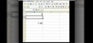 Use an inverse trigonometric tangent function in Excel