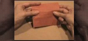 Origami a bookcase