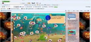 Hack levels and money in Fish World (11/16/09)