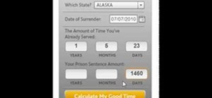 State Prison Sentence Calculator