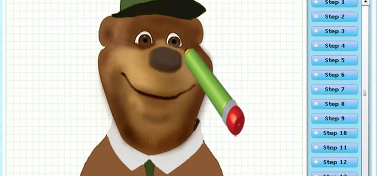 Draw Yogi Bear (Yogi Bear - the Film)