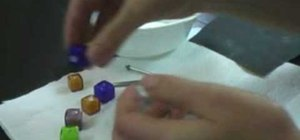 Use a bead reamer to smooth sharp edges on a bead