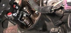 Replace the valve seals if your engine is smoking