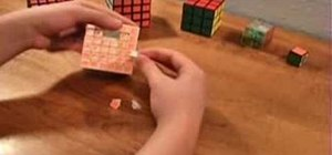 Fix V-Cube 6 puzzle pieces that mysteriously pop out