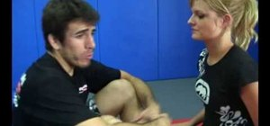 Do a guillotine choke w/ a rear naked choke grip w/ UFC fighter Kenny Florian