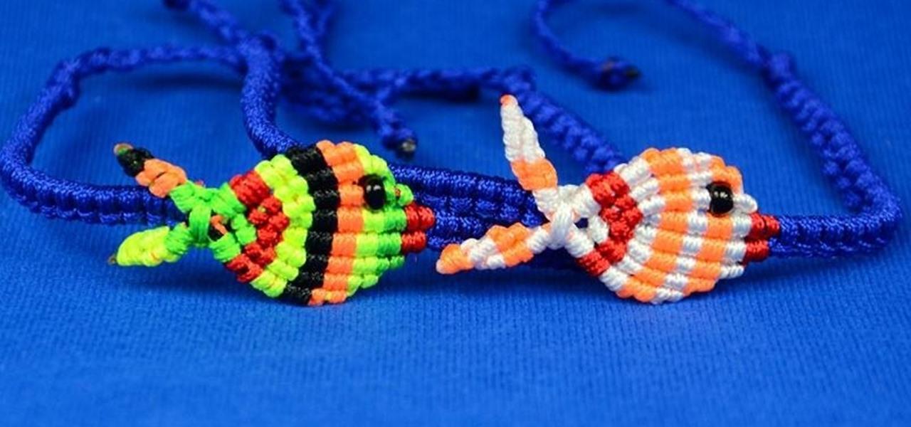 Make a Fish Bracelet