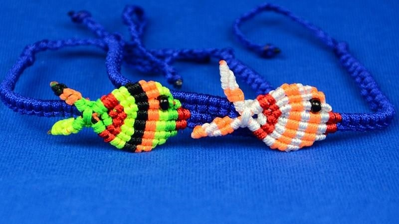 How to Make a Fish Bracelet