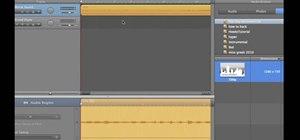 Extract audio tracks from videos using iMovie and GarageBand