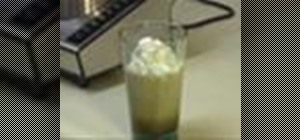 Make a frappé