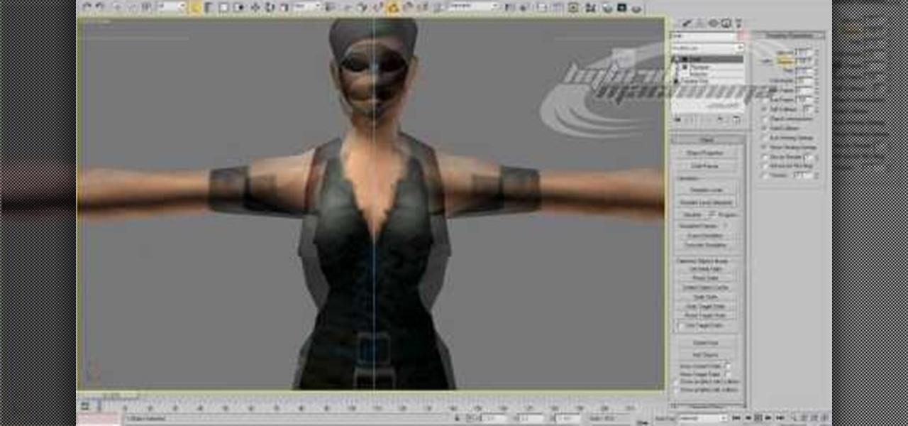 How to use garment maker in 3d studio max to model clothes Simple 3d modeling online