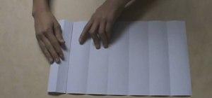 Fold an origami magic ball by Kade Chan