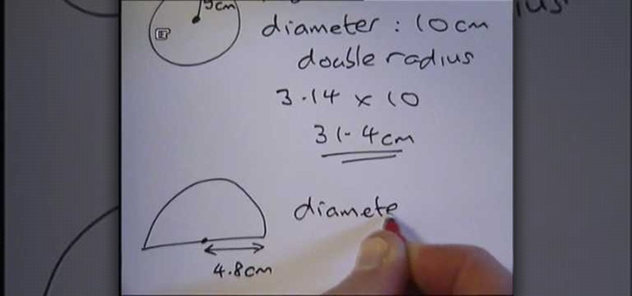 how to teach circumference of a circle