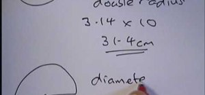 How to Find the circumference of a circle quickly « Math