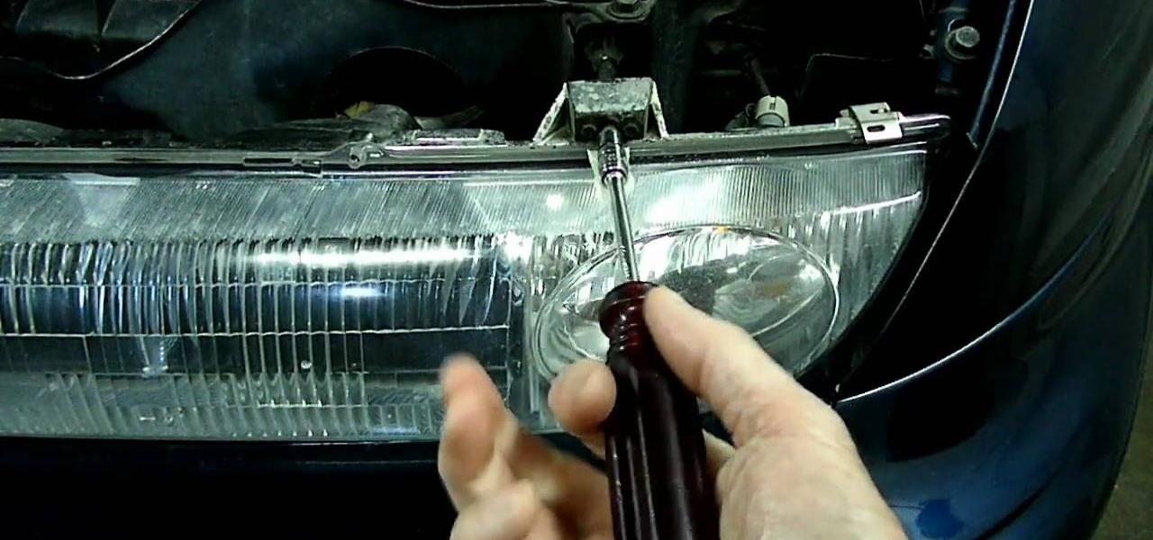 How To Adjust The Headlights A Saturn S Series Maintenance Wonderhowto