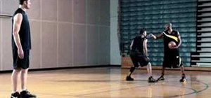Practice outside jumpers with Kobe Bryant