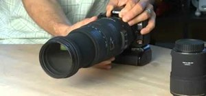 Use zoom and telephoto lenses on a Canon DSLR camera