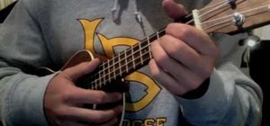 """Playthe song """"Heartless"""" by Kanye West on ukelele"""
