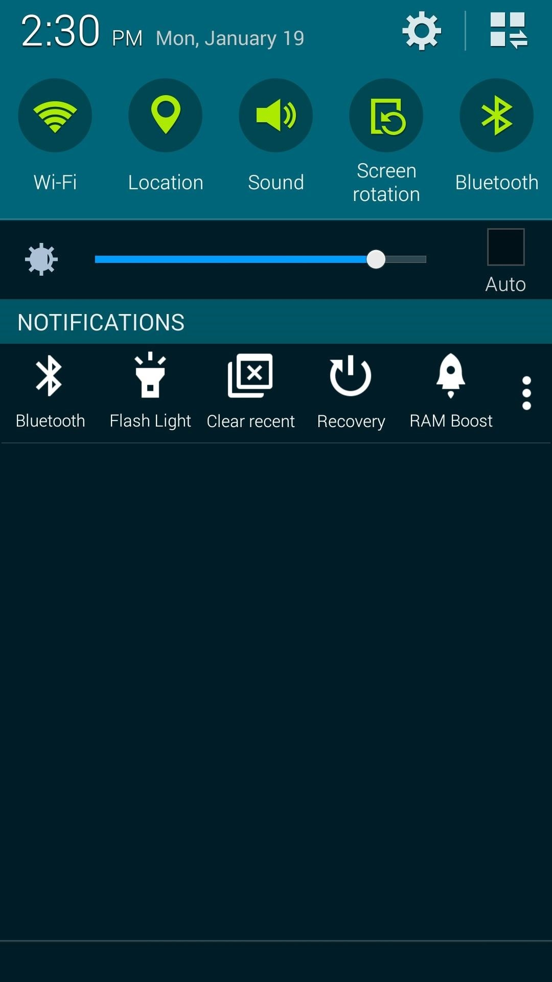 Get Quick Access to Almost Any System Function on Your Android