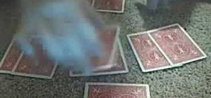 Cheat at poker with a ten card dealing trick