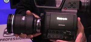 NAB 2010 - Panasonic Camcorder AG-3DA1 & AG-AF100