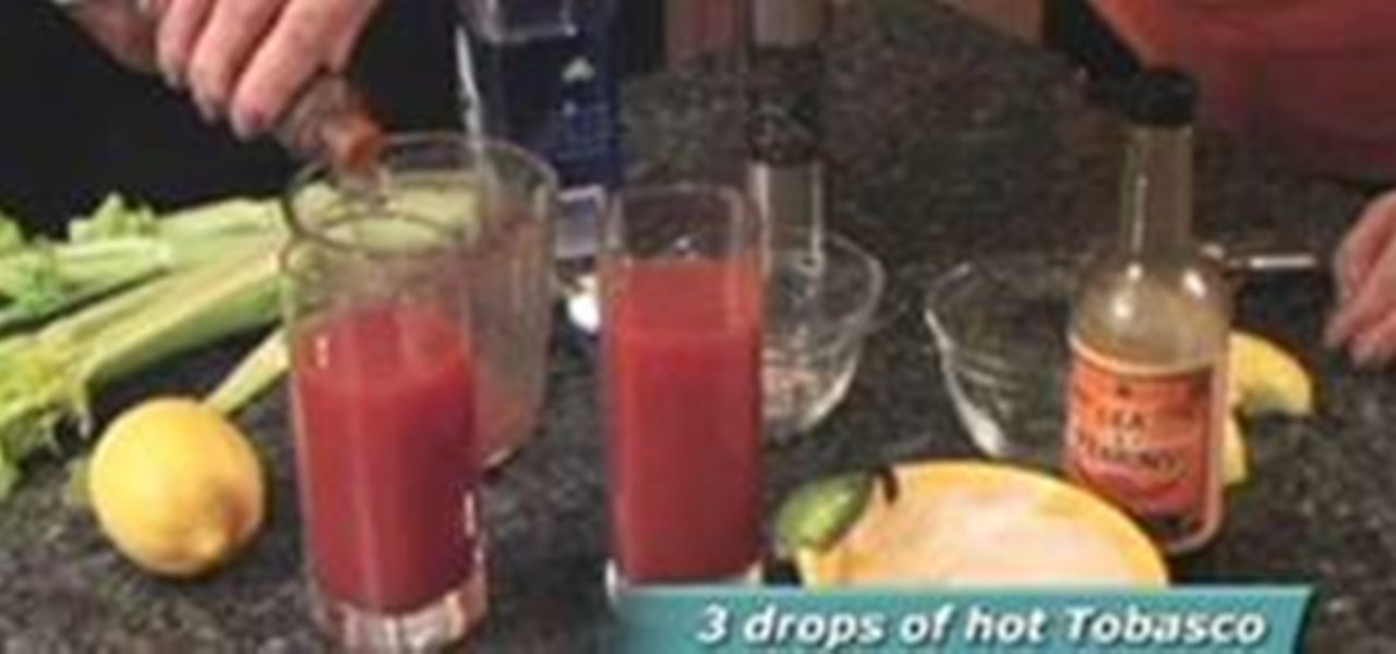 Make a Healthy Cocktail