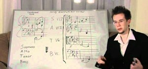 Learn different music score types (soprano, alto, tenor & bass)
