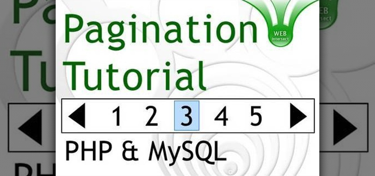 How to Display the results of a MySQL query over multiple pages