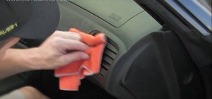 Clean your car leather and vinyl interior