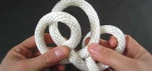 Tie a quick Rope Shackle
