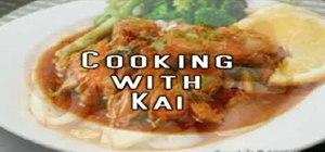 Make soy sauce noodles