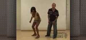 "Do the ""Rock Step"" with a partner"