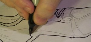 Draw a track shoe