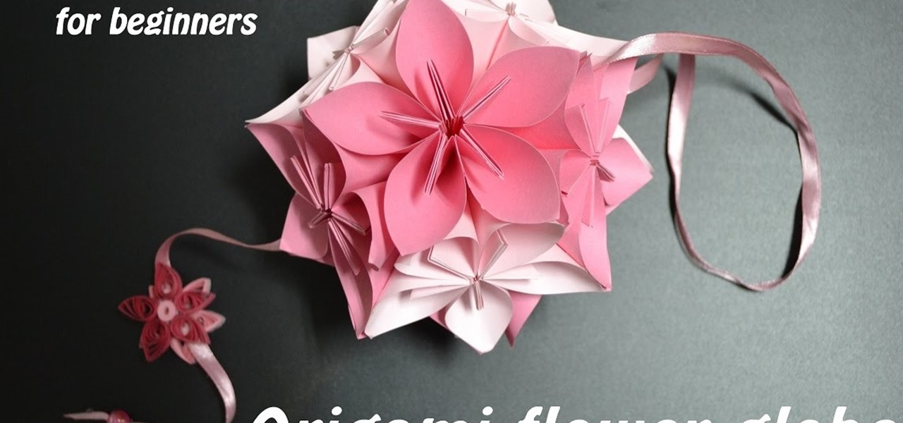 How to Fold : Origami Flower | Do It Yourself - YouTube | 600x1280
