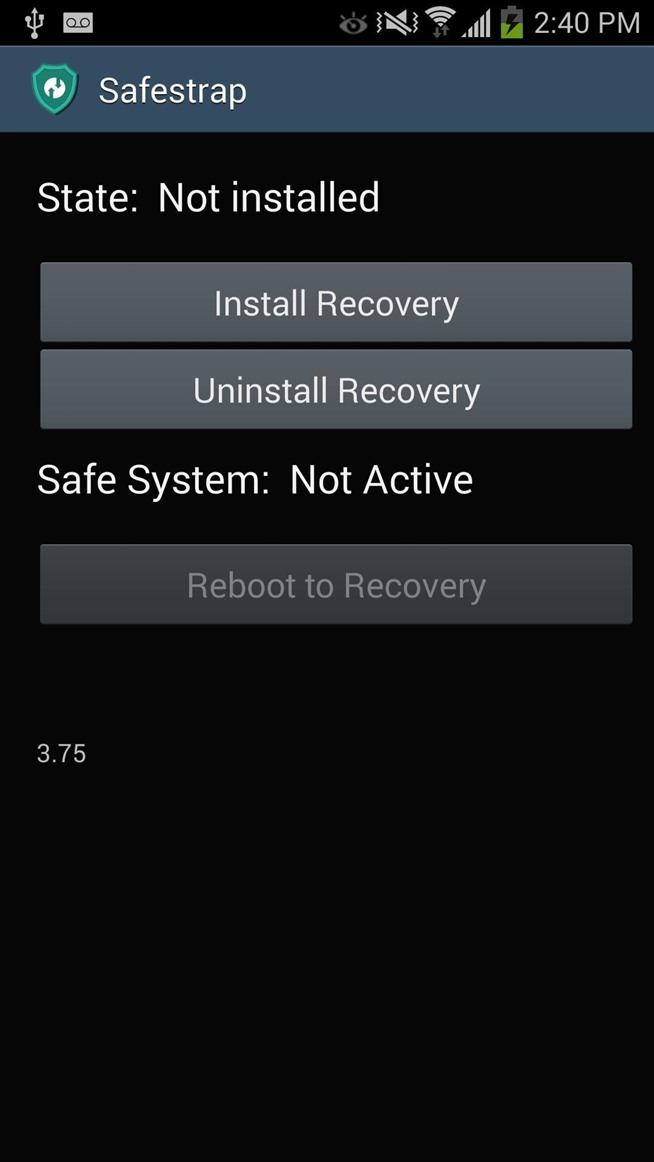 How to Install a Custom Recovery on Your Bootloader-Locked Galaxy Note 3 (AT&T or Verizon)