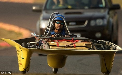 Solar Race Car Reaches 93MPH