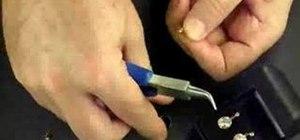 Make gemstone low wall bezel earrings